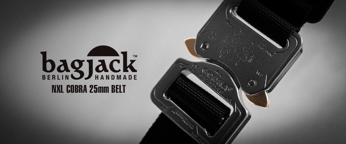 BAGJACK NXL cobra 25mm belt ネクストレベル コブラバックル
